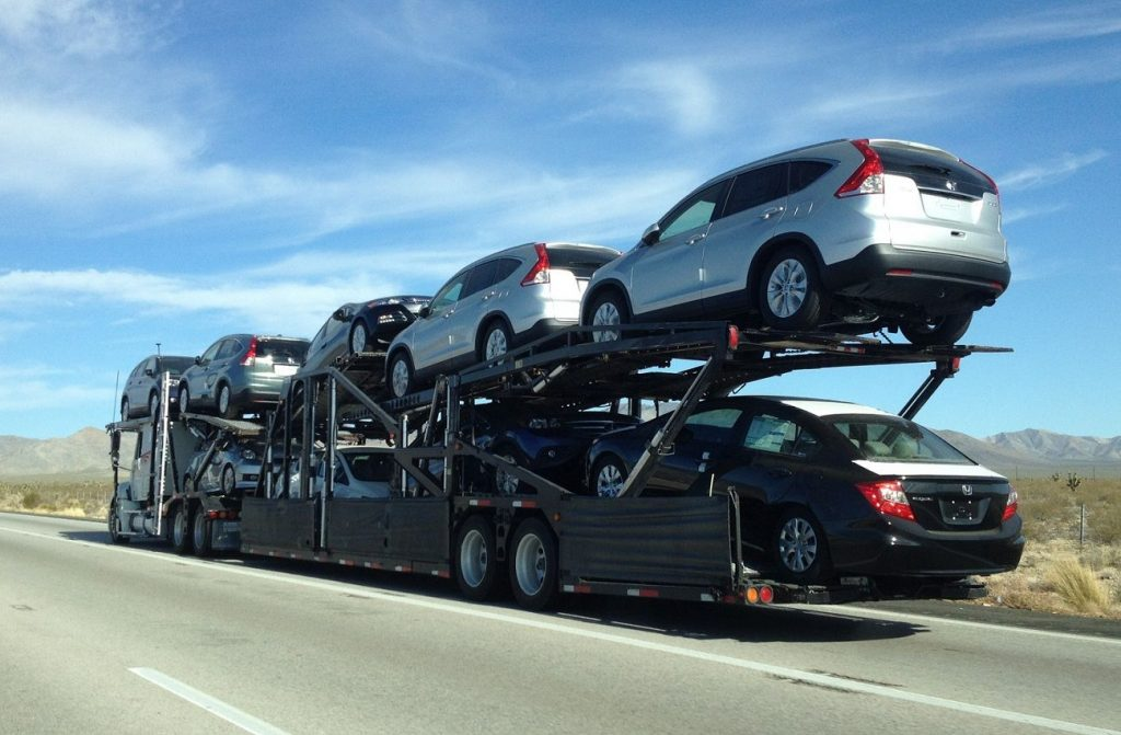 professional car shipping